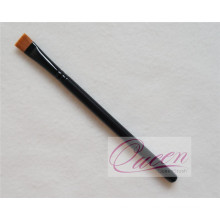 Wooden Flat Makeup Brush Black Cosmetic Eyeliner Brush