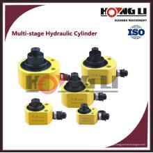 Cilindro hidráulico de uso industrial HL-D mini pistão