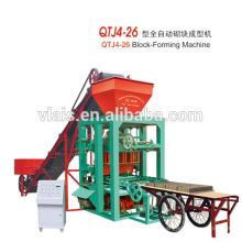 QT4-26A automatic brick machine Solid protable concrete hollow block