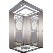 Espejo de acero inoxidable grabado de ascensor de pasajeros