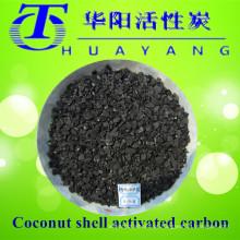 Carvão activado em carvão de coco / carvão ativado granular para carvão ativado carregado com prata