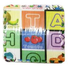 La estera del mosaico EVA juega los cuadros hermosos 24PCS