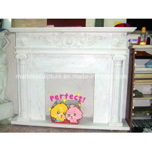 Factory Cheap Sale Natural Stone Marble Fireplace (SY-MF143)