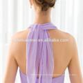 Vente chaude nouveau style Halter Off-épaule longue robe de soirée 2017 de gros