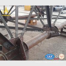 Tour de tuyau d'acier galvanisé