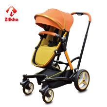 Carrinho de bebê com moldura e assento regular
