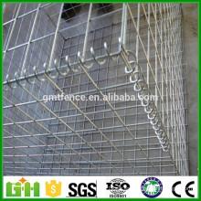 De alta calidad Hesco soldado malla de alambre Gabion cesta / malla soldada Gabion