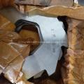 PP PE PVC Woven Bags Shredder Crusher Machine