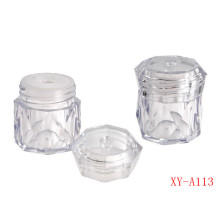 Crystal Clear Compact Powder Container