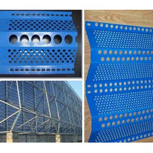 Anti Wind und Staub Mesh (Single Peaks) / Perforierte Metall Mesh