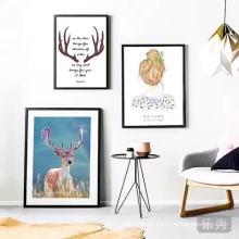 Bilderrahmen aus Kunststoff mit 8 x 10 Wandbildern