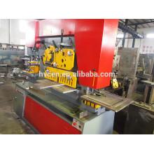 Q35Y-20 trabalhador de ferro máquina de perfuração e corte, máquina de ferro forjado