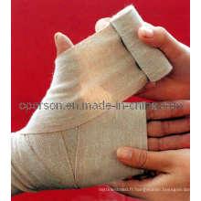 Bandage élastique simple en spandex médical avec CE et ISO approuvé