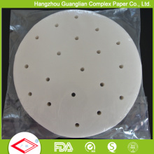 Siliconised Steaming Paper for Resturant Bamboo Steamer Use