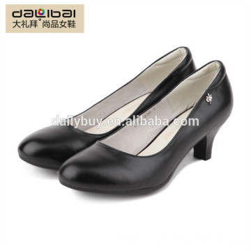 New design sexy slip on pointed toe women dress shoes with heels