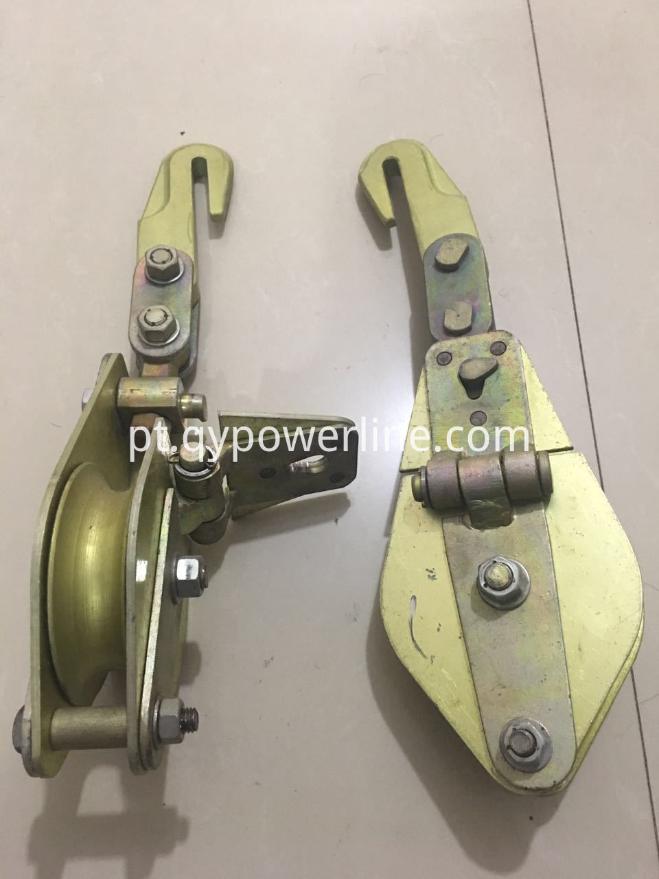 Alum Body And Sheave Lifting Pulley