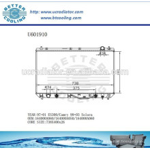 Radiateur pour TOYOTA ES300 164000A060 / 164000A050 97-01 Fabricant et vente directe