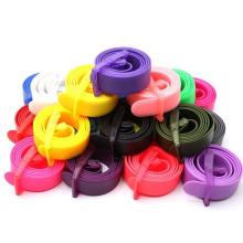 Umweltfreundlicher Kunststoff-Schnallen-Silikongürtel für Männer