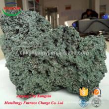 carboneto de silício de carboneto de silício verde verde para salvar ferro gusa