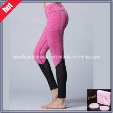 Calças da ioga do desgaste da forma das mulheres por atacado da forma