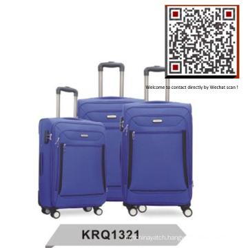 Cheap Soft Travel Trolley Luggage Factory (KRQ1321)