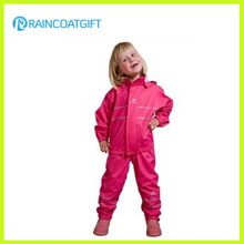 Eco-Friendly Waterproof Kids PU Raincoat
