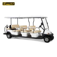 China Golfschlägerschläger-Golfauto des elektrischen Golfbusses 12 des Sitzers elektrischer elektrischer Minibuspreis