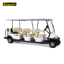 China 12 Seater carrinho de golfe elétrico golf buggy clube de golfe carro elétrico mini bus price