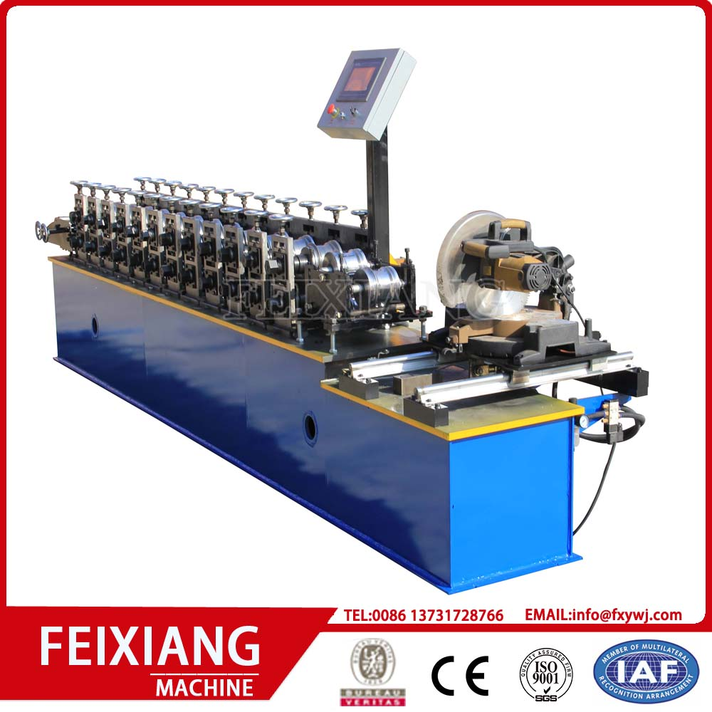 Metal steel shutter door making equipment