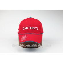 Logo personnalisé avec plus de casquette de baseball en couleur fabriqué en Chine