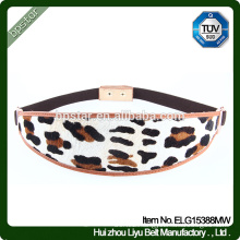 Fashion Dress Belt Leopard Print Lady Female Strap Cintos Women waistband Cinch Ceinture Designer