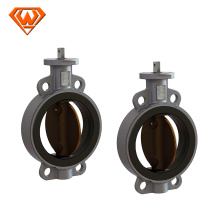ss disc and stem 80mm table e wafer butterfly valve