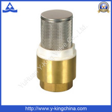 Brass Spring Check Valve with Stainess steel Strainer (YD-3003)
