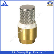 China Valve Lead-Free Brass Spring Loaded in-Line Check Valve (YD-3003)