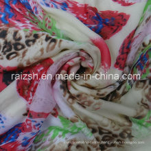 Polyester Printed Chiffon Imitation Silk Fabric