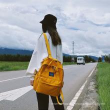 Ladies Backpack Outdoor Leisure Women′s Backpack Simple Large Capacity Male Student School Bag Computer Bag