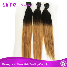 Grade 8a No Shed Brazilian Two Color Hair