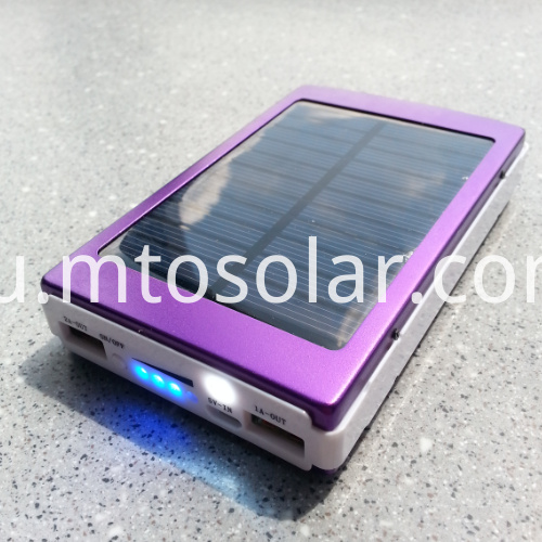 high quality cheap price mini solar power bank 20000mah