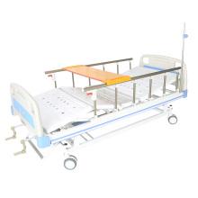 Cama de hospital manual con mesa de comedor buen precio