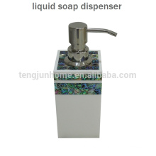 Hot Sale Paua Shell Liquid Hand Soap Dispenser for Bathroom Accessory