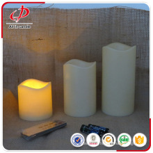 Wholesale decorative battery led candle with timer