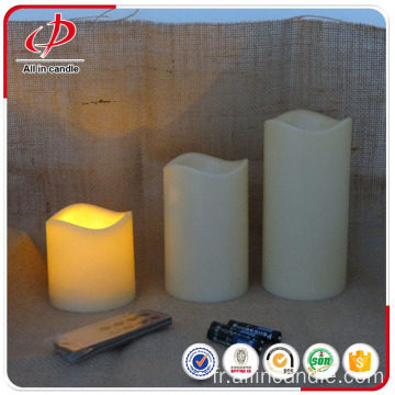 Wholesale batterie décorative led bougie avec minuterie