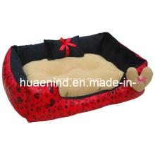 Plush Toy Lovely Purple Plush Dog Bed Cushion