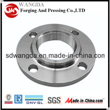 ASTM B16.5 A105 Carbon Steel Screwed Flange