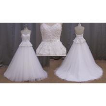 Impresionante vestido de novia