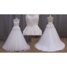 Sheath A-Line Bridal Gowns with Beading