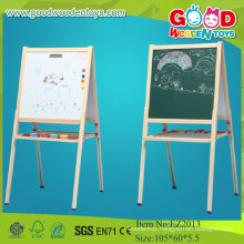 Best Price High Quality White and Black Magnetic Easel,Wooden Painting For Children