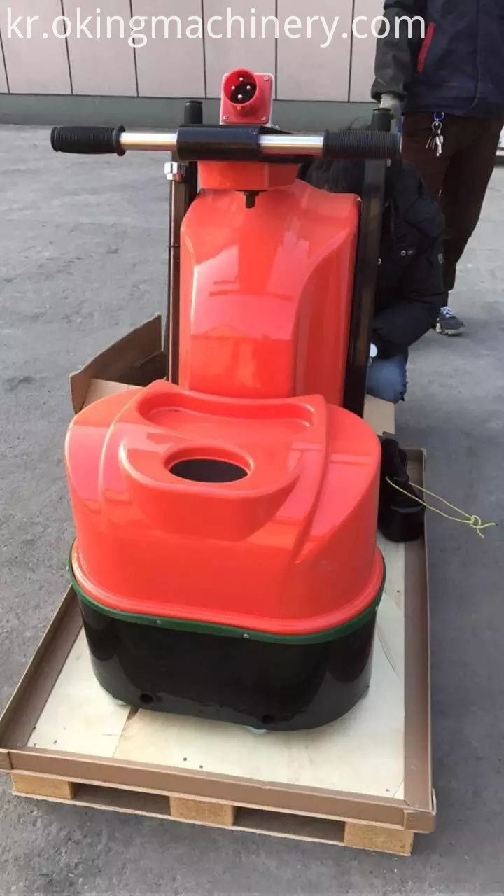 Concrete Grinder Polishing Machine With Vacuum