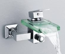 バスタブ ガラス滝シャワー蛇口 S-001