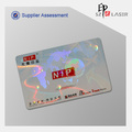 Custom Logo Id Card Hologram Overlay for Laminate Use